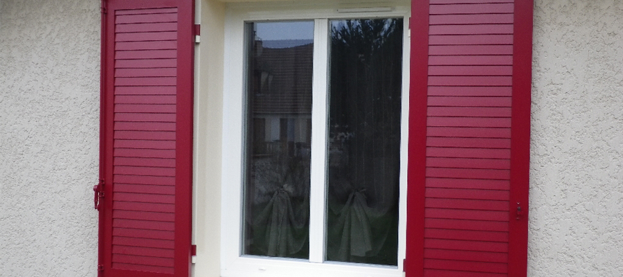 des fenêtres alu