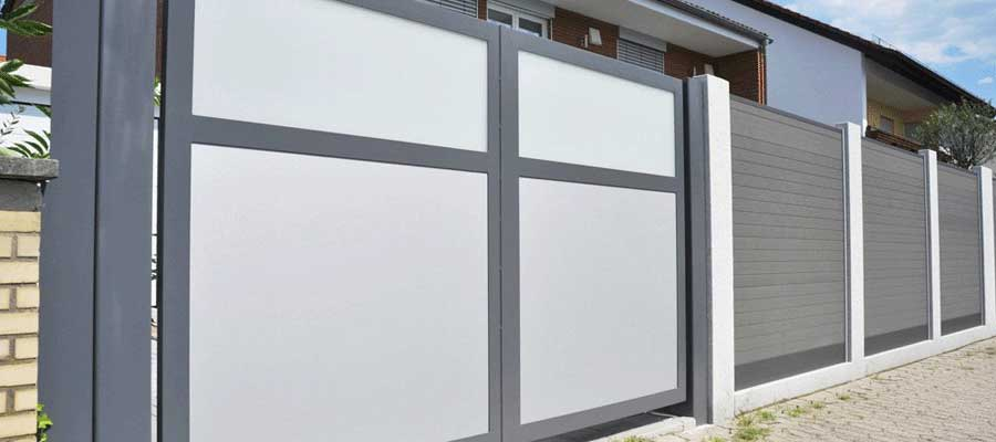 Portails aluminium et PVC sur mesure